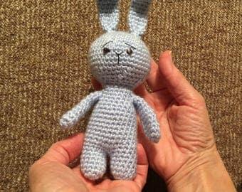 Crochet Bunny Little  rabbits Crocheted toy Soft baby gift Nursery decor Easter toy Acrylic yarn Birthday gift Handmade Toy