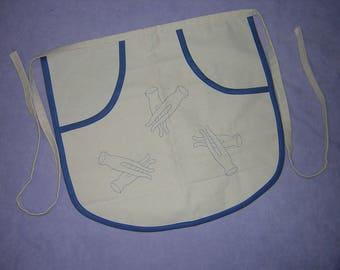 CLOTHES PIN BAG Vintage 50's Apron style