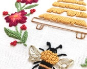 Hand Embroidery Pattern  PDF downloadable pattern BEE