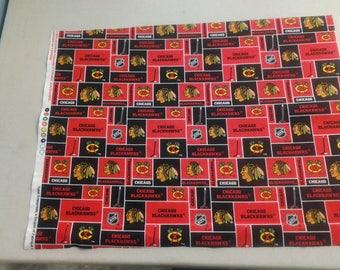Chicago Blackhawks fabric 247985
