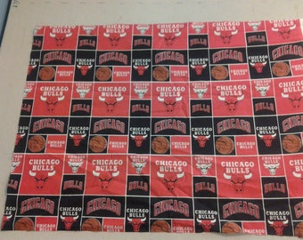 Chicago Bulls Fabric 248001