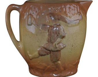 Roseville Pottery 1910-16 Early Ware The Boy Pitcher