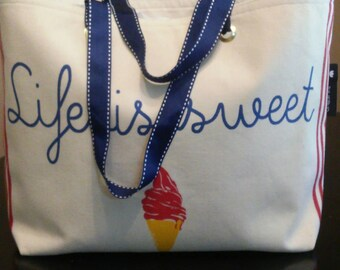 Life is Sweet Tote