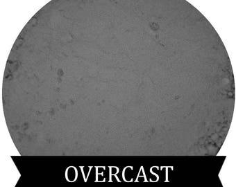OVERCAST  Matte Titanium GRAY Eyeshadow