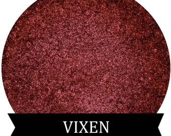 Metallic Red Eyeshadow VIXEN Mineral Makeup