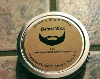 2oz Twist Tin Beard Wax
