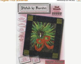 Fathers Day Sale Stitch by Number Noel Wreath