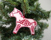Horse ornament - Shipping included