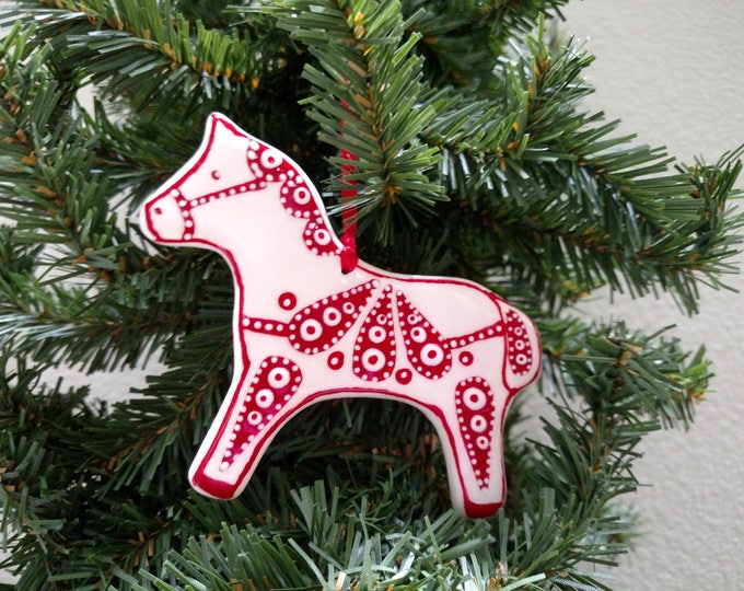 Featured listing image: Horse ornament - Shipping included