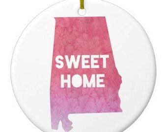 Alabama Christmas Ornament
