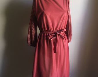 Vintage 60s Day Dress • Medium Dress
