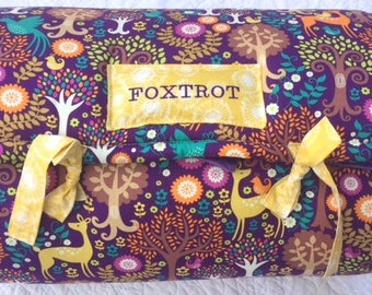 FOXTROT New PROMO Quilted Nap Mat by Janiebee Boutique Nap Mats, Toddler Nap Mats, Janiebee Nap Mats