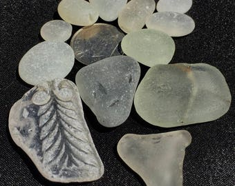 Sea Glass! Beach Glass of Hawaii Beaches SALE! PATTERN! SAFETY glass! Frosty Rounds! Bulk Sea Glass! Sea Glass Bulk