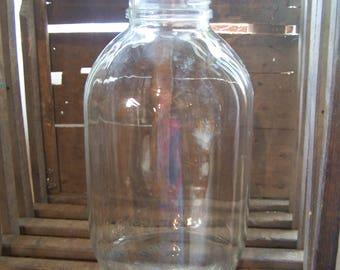 1 Gallon Duraglas Vintage Glass Jar, Canning Jars, 20s-30s,  Wedding, Crafts, Ball Jars