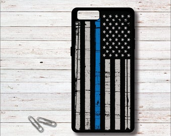 American Flag Phone Case, American Flag, Police, Police Officer Gifts, Flag, Thin Blue Line, Phone Case, USA, Gifts for Him, Father's Day