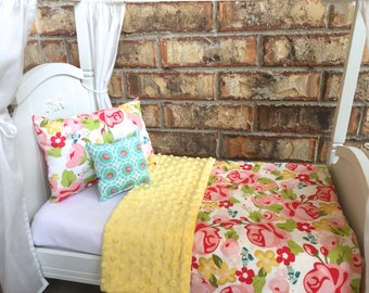 """American Girl 18"""" Doll Bedding Set, Beauty Floral"""