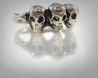 Skulls Of Three Monkeys I did not say hear seen