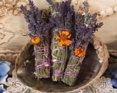 Black Sage & Lavender Smudging Stick, Mugwort Smuding Stick, Lucid Dreams, Dream Weed, Magical Sage