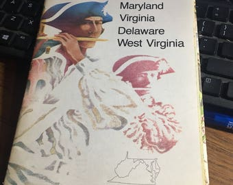 National Geographic maryland virginia Delaware west virginia map