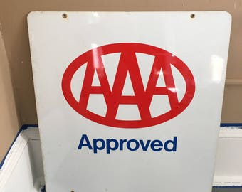 Triple A Sign