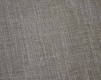 REMNANT Grey Textured Fabric 55 inches x 2.75 yards