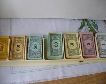 Play Paper Money, Fake Money, Monopoly Money, Prop Money, Vintage Paper Play Money, Game Pieces, PioneerFundraiser