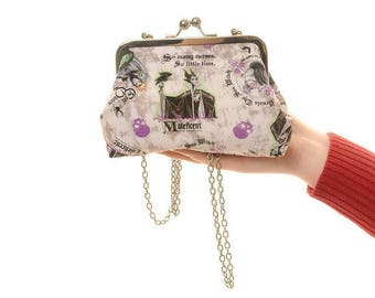 Disney Villains Evening Bag and Clutch In One