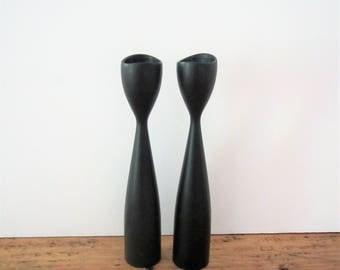 Mid Century Danish Modern Candle Sticks