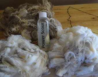Raw Wool Sample Box