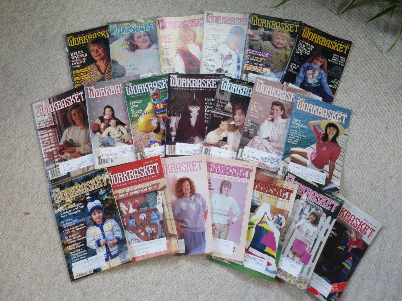 20 vintage workbasket magazines knit crochet patterns details 20 vintage workbasket magazines knit crochet patterns bankloansurffo Choice Image