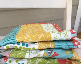 Jacks and Ball Baby Boy Quilt