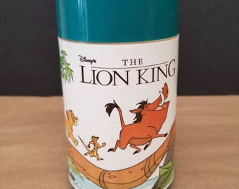 Vintage Disney's the Lion King Thermos