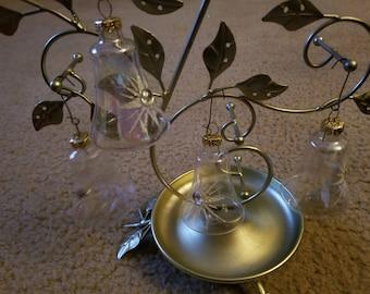 Set of 4 Vintage Christmas Ornaments