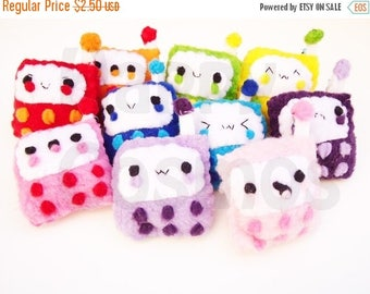 ON SALE - Cell Phone Keychain - Keychain, Kawaii Keychain, Key Ring, Cell Phone Charm, Party Favors, Stocking Stuffer