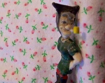 tiny pipe hillbilly man figurine