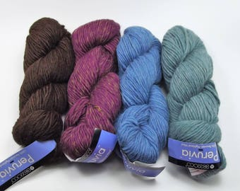 Berroco Peruvia Yarn, Bulky 3.5oz 100% Peruvian Highland Wool, Felting, Knitting Select Color