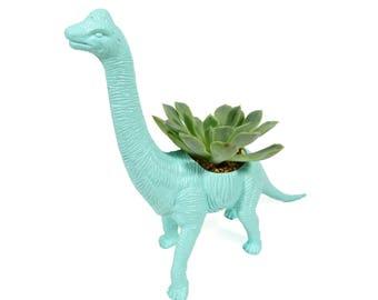 George the planted Brachiosaurus - the Original Toy Planter