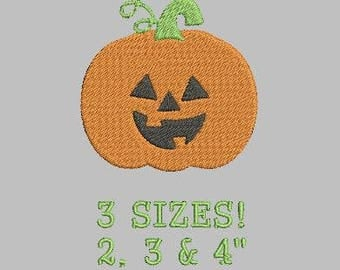 Buy 1 Get 1 Free! Pumpkin Embroidery Design Halloween Embroidery Design Jack O Lantern Embroidery Design Mini Pumpkin Small Pumpkin Mini Jac