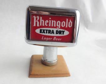Vintage Rheingold Chrome Tap