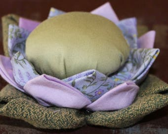 Lavender Flower Pincushion