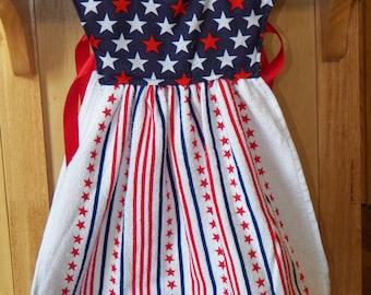 Stars and Strips  Towel Dress Hanger
