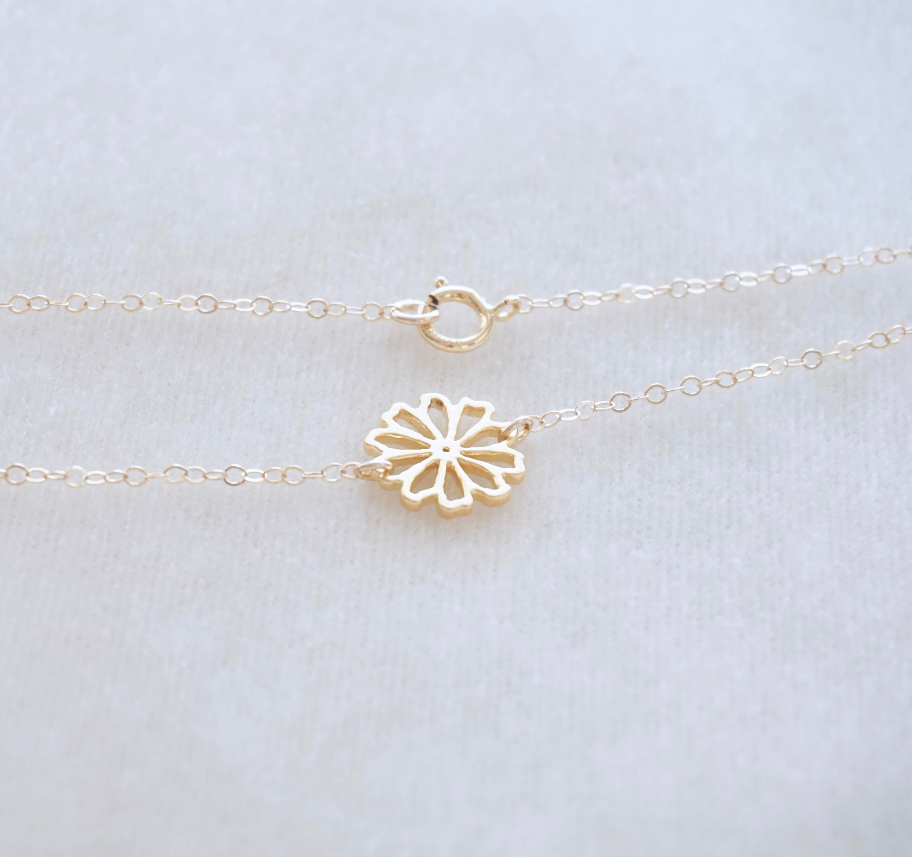 l sterling necklace vintage silver georg hg expand item jensen full plated click gold daisy to enamel