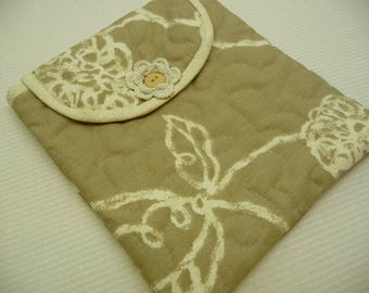 MINI MISTI Sleeve - Tan Blooms