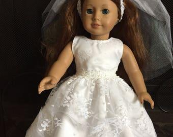 American Girl First Communion Dress