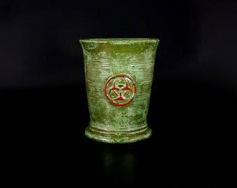 Stoneware Bio Hazard Cup