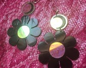 Flower power luna earrings