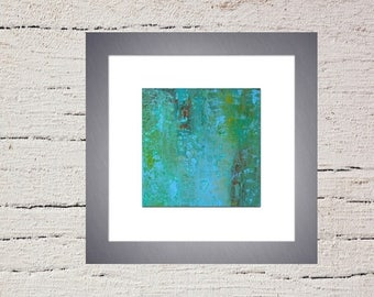 STARVING ARTIST Sale Abstract Giclee Fine Art Print of Original Acrylic Painting -Modern Contemporary Art