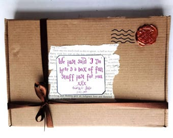 Harry Potter Inspired Childrens Wedding Day Activity Box - something special to keep them entertained on the day