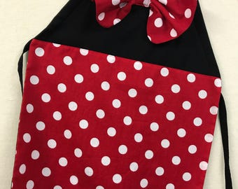 Minnie Mouse Inspired Girls' Apron