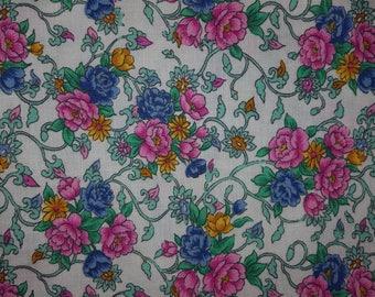 Vintage fabric Fat Quarter